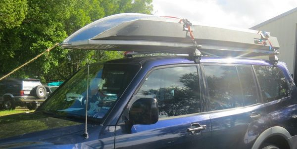 3m Bluefin Tinoo (roof-topper, with Kapten Boat Collar.