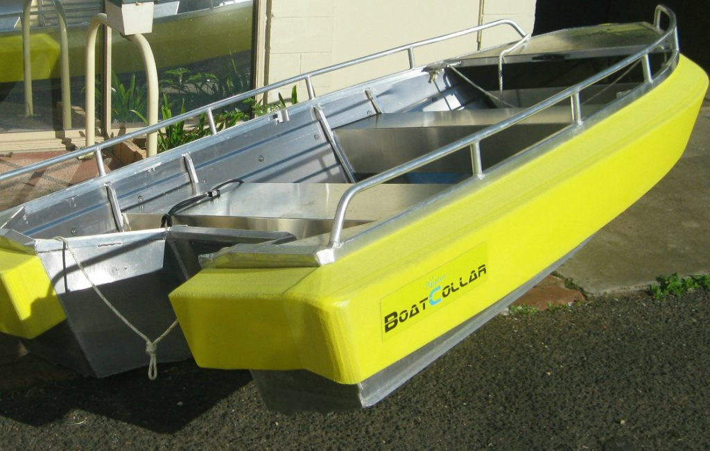 Max-66 Collar in Hi-Vis Yellow (discont.) on 3.1m Horizon tender (doubles as liferaft during sea crossings).