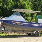 530 Clark Sea Ranger, forward steer,