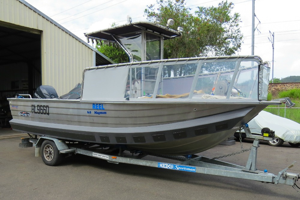6m SeaJay Magnum, centre console, gets extra performance and buoyancy