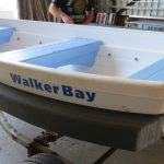 Walker Bay 10 (used on trailer) with Mini Collar