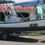 6.5m Longboat with Boat Collar stabilizers