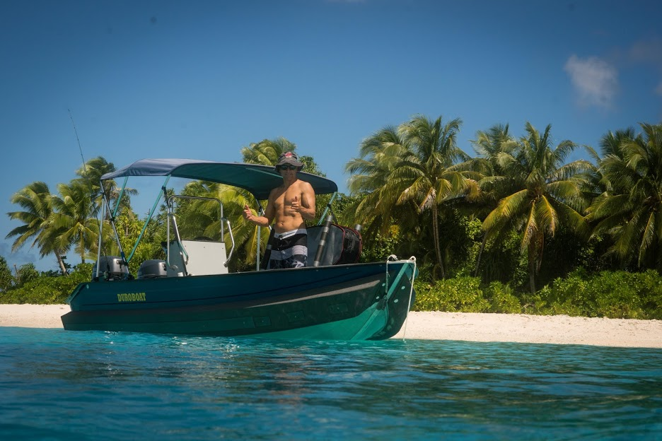 Duroboat with Kapten Boat Collar