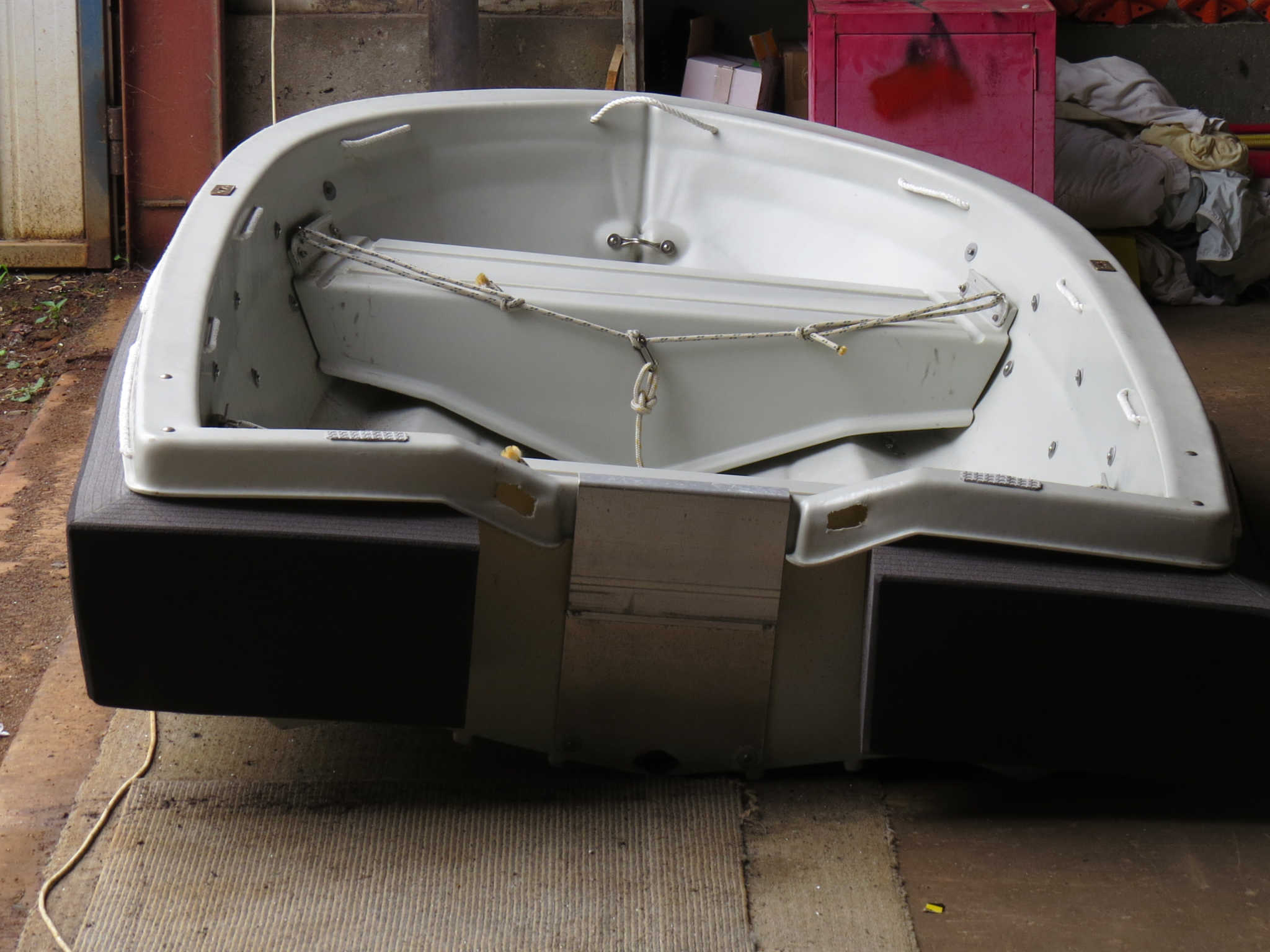 skippa with transom foam