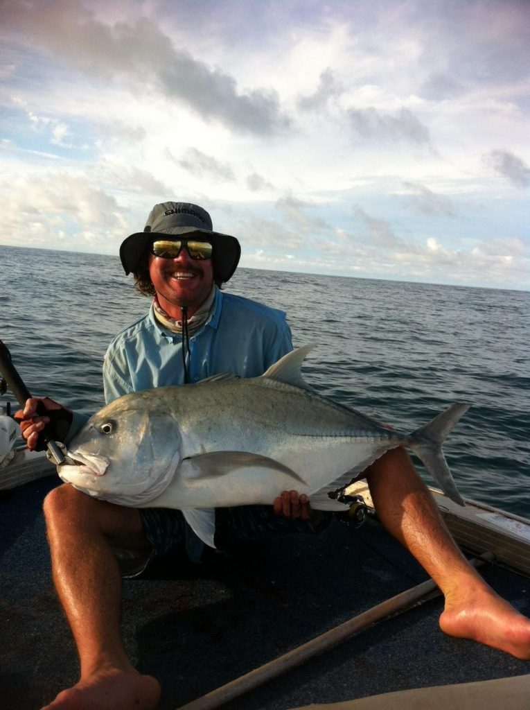 David loves his Boat Collar - lets him get out wider where the bigger fish are.