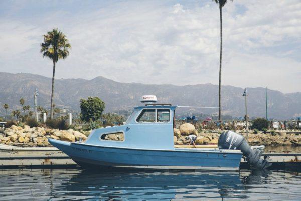 6m fibreglass boat in California