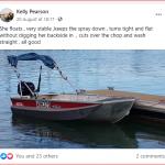 3.5m V-nose punt review