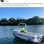 Jamie_new boat