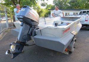 Stacer 3.8 with transom foam
